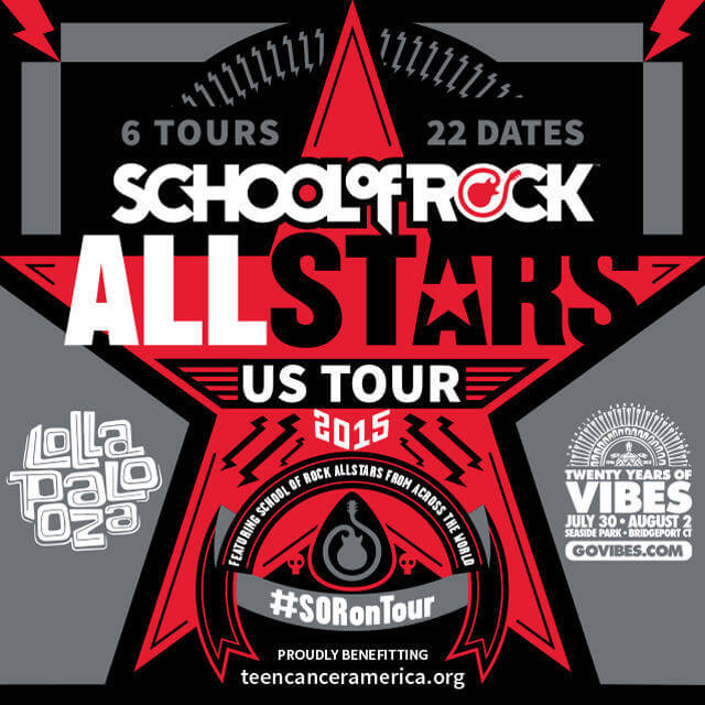 Check out our School of Rock Allstars! On Tour Now!
