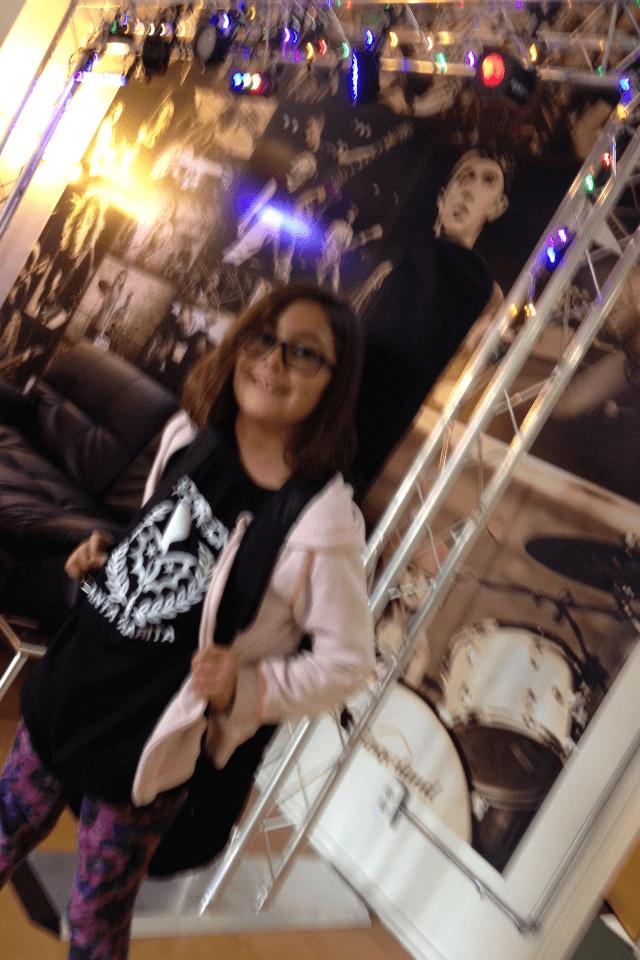 Vivian Vega Rock 101 Guitar Student at School of Rock - Santa Clarita