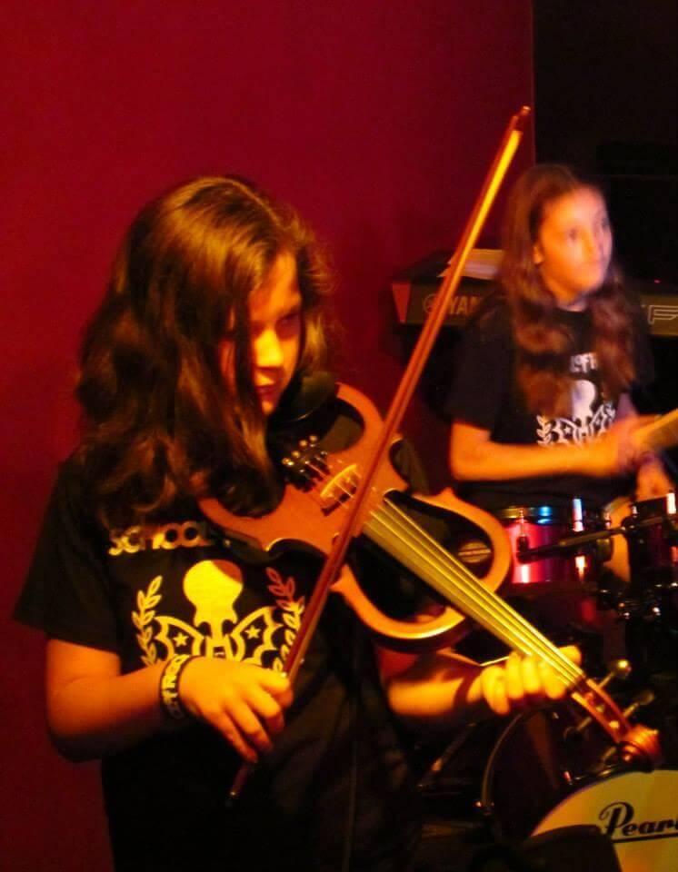 Campers Rock Violin!