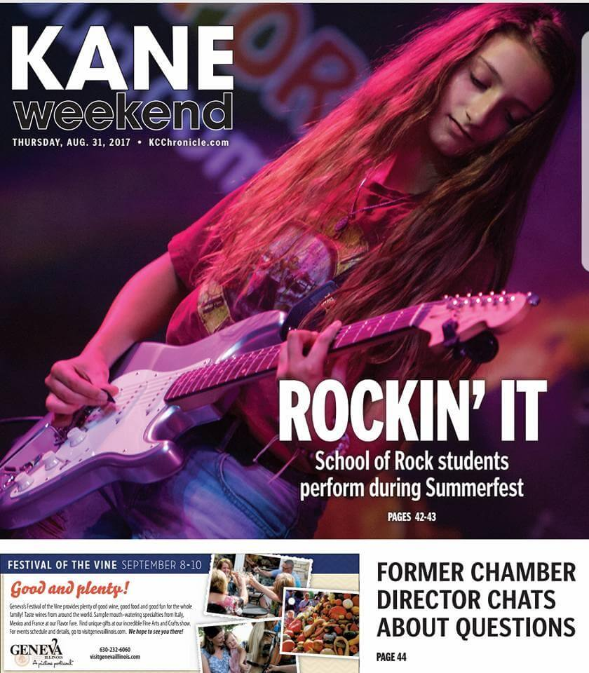 SoR Geneva's 1st Annual Summerfest 2017 was covered by the Kane County Chronicle.
