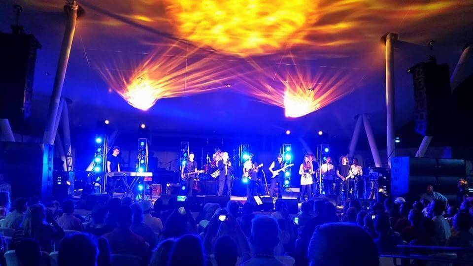 School of Rock Ballwin students perform with Jon Anderson of Yes! Aug 16, 2014