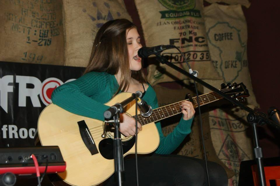 Cassandra playing for the Huron Valley Humane Society