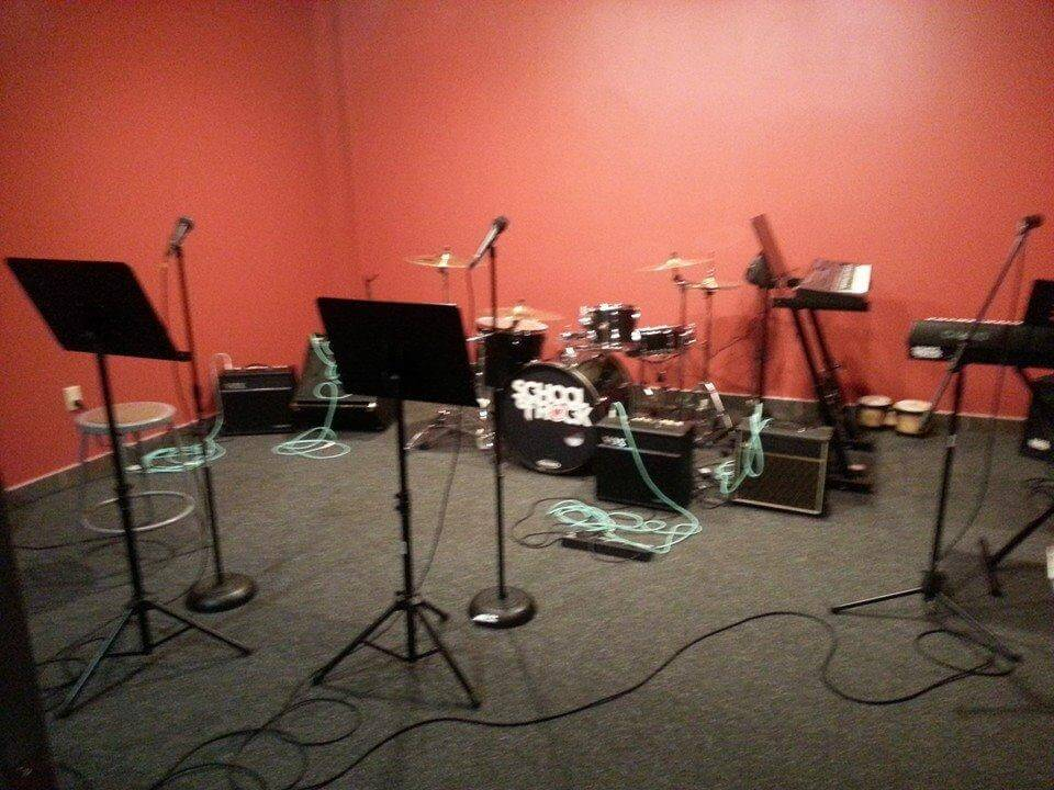 One of our rehearsal rooms