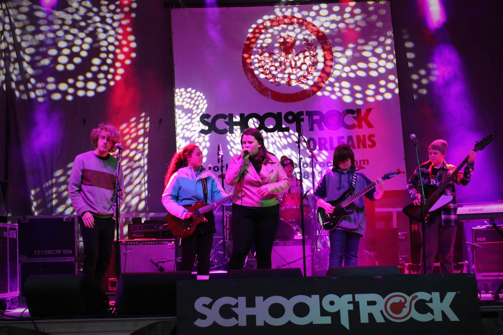 School of Rock Orleans plays the Grey Cup.