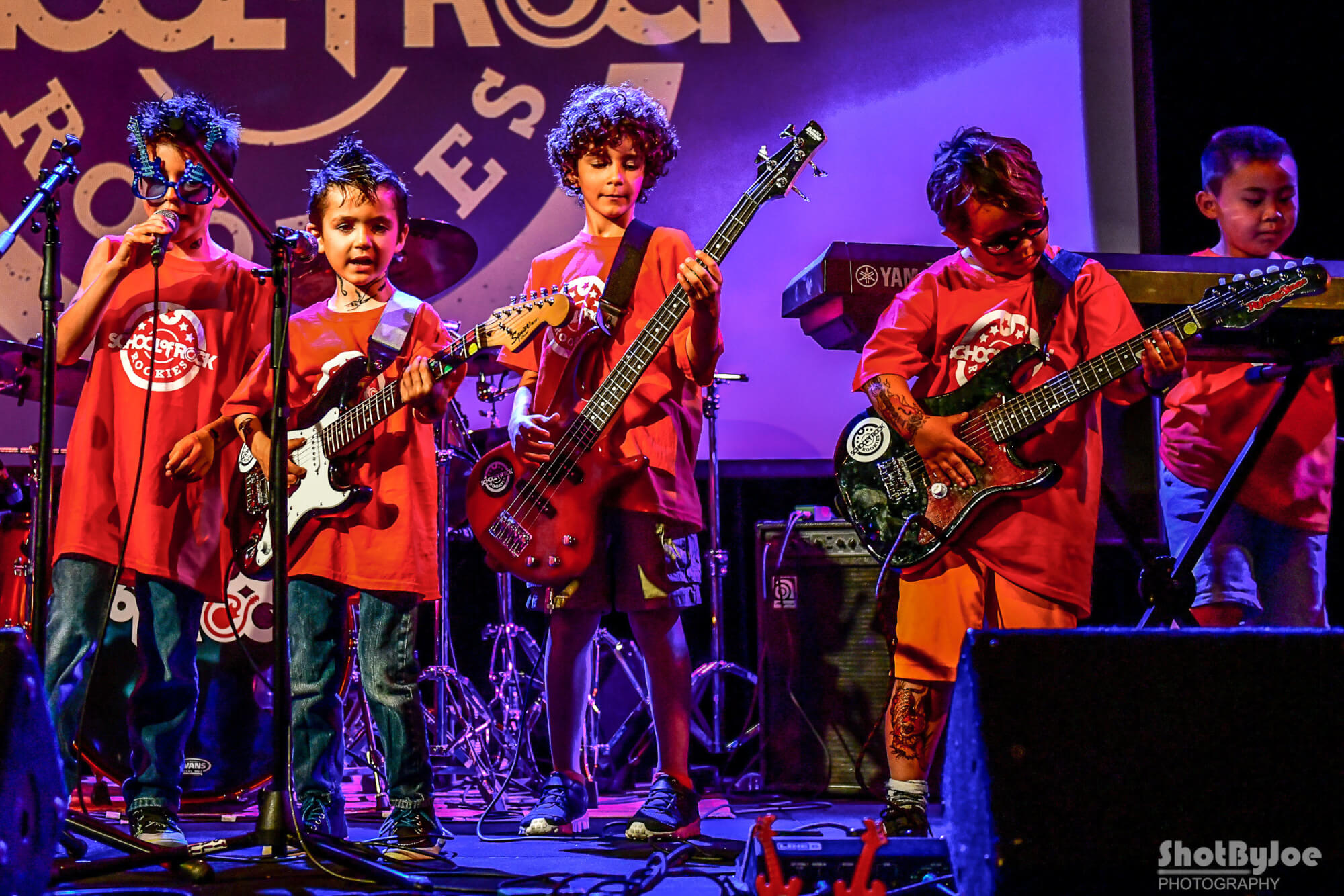 Our Rookies Band plays Festival Hall.