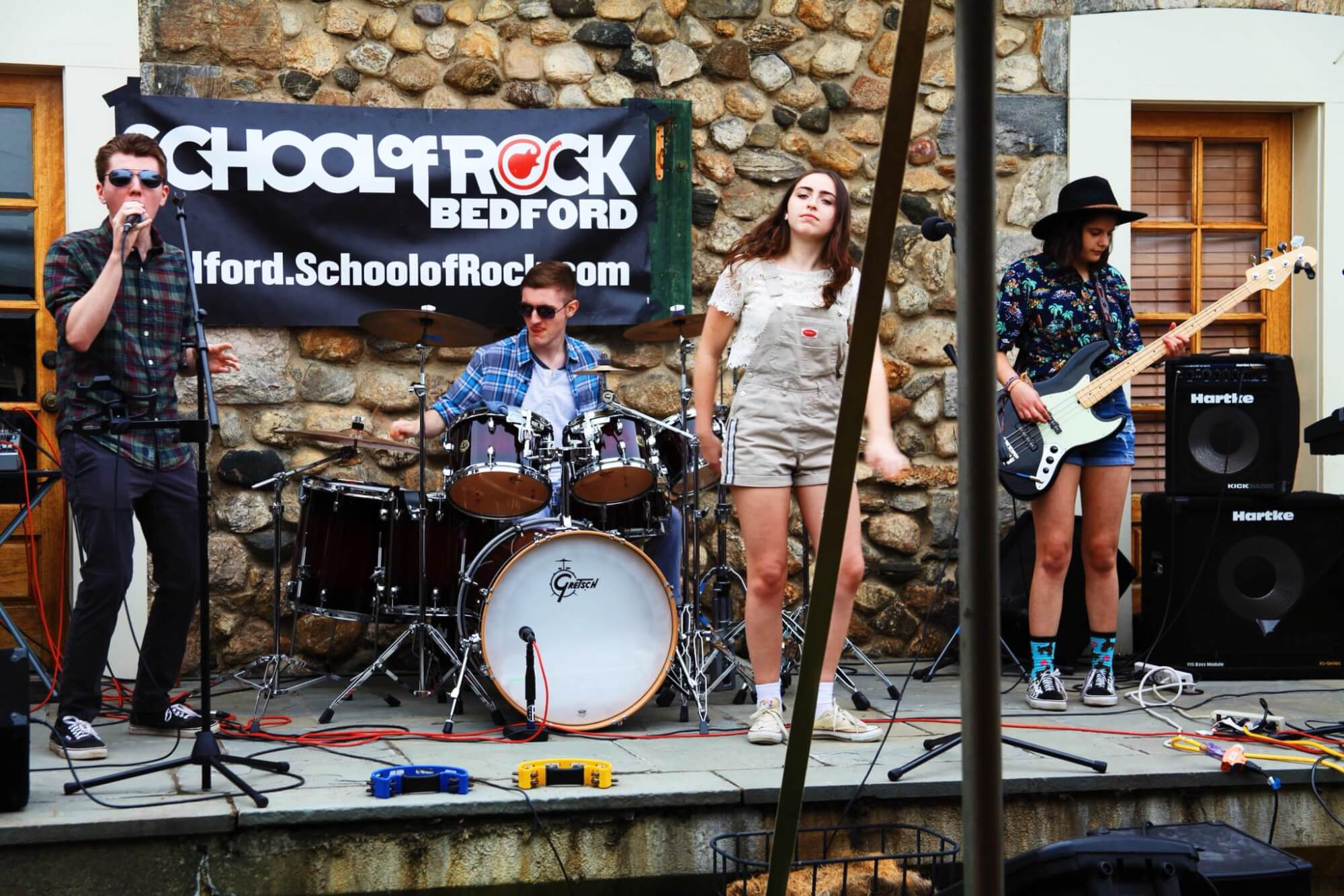House Band performing at a community fundraiser in Bedford Hills, NY to benefit 13 Hands Equine Rescue.