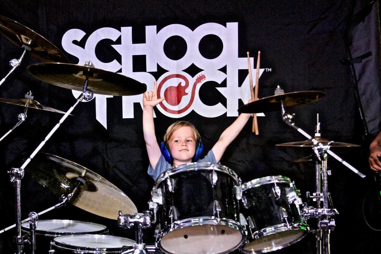You're never too young (or old) to start at School of Rock.