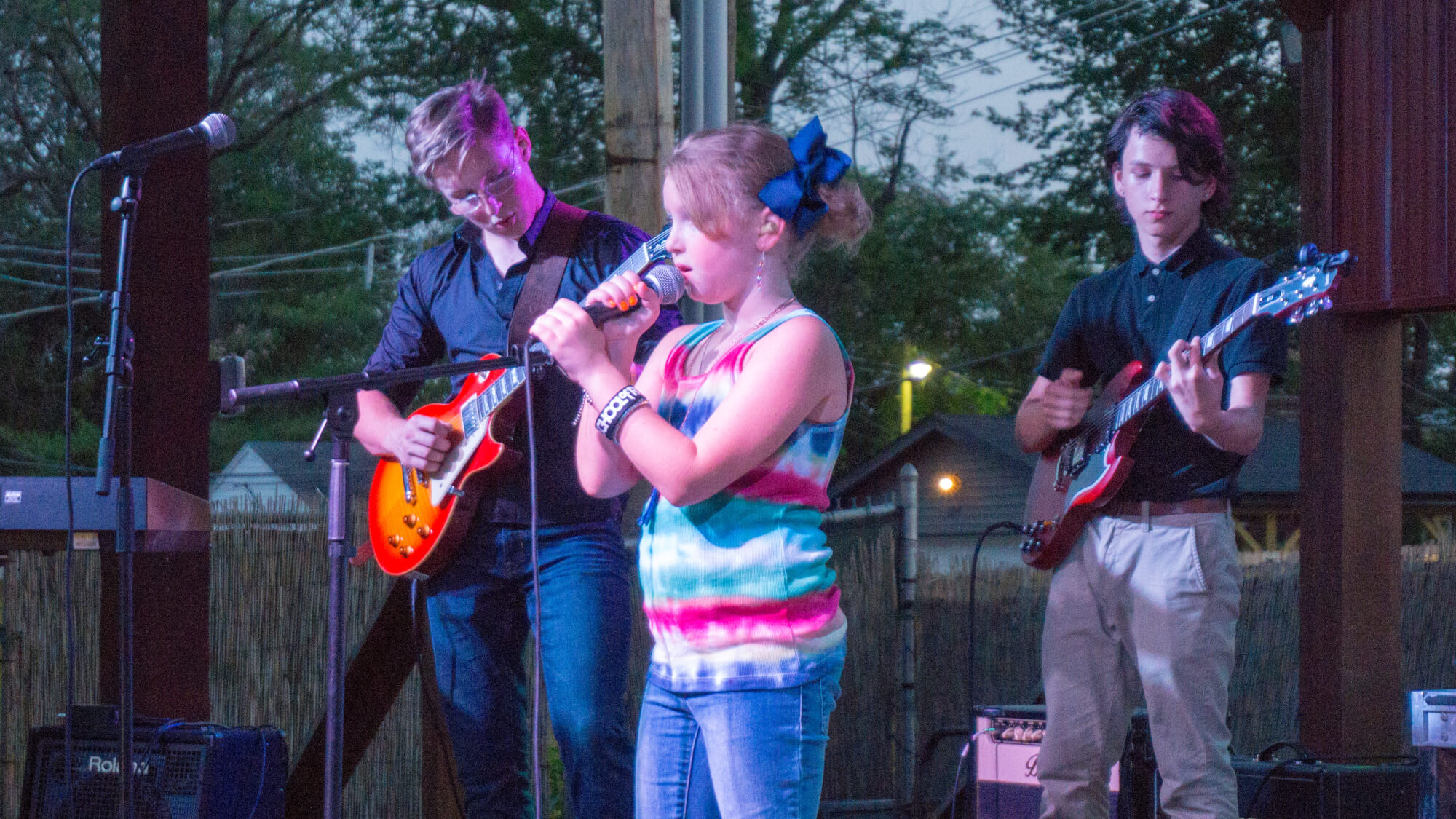 Spring 2018 Performance Music Festival at Atomic Cowboy Outdoor Stage.
