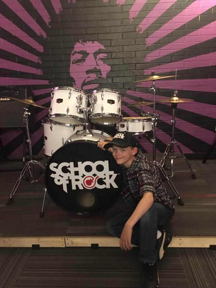 Hendrix Rehearsal Room.