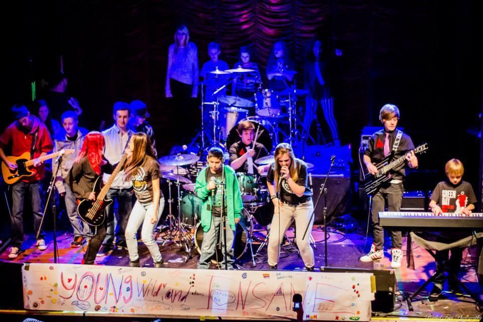 School of Rock Plainfield after a show.
