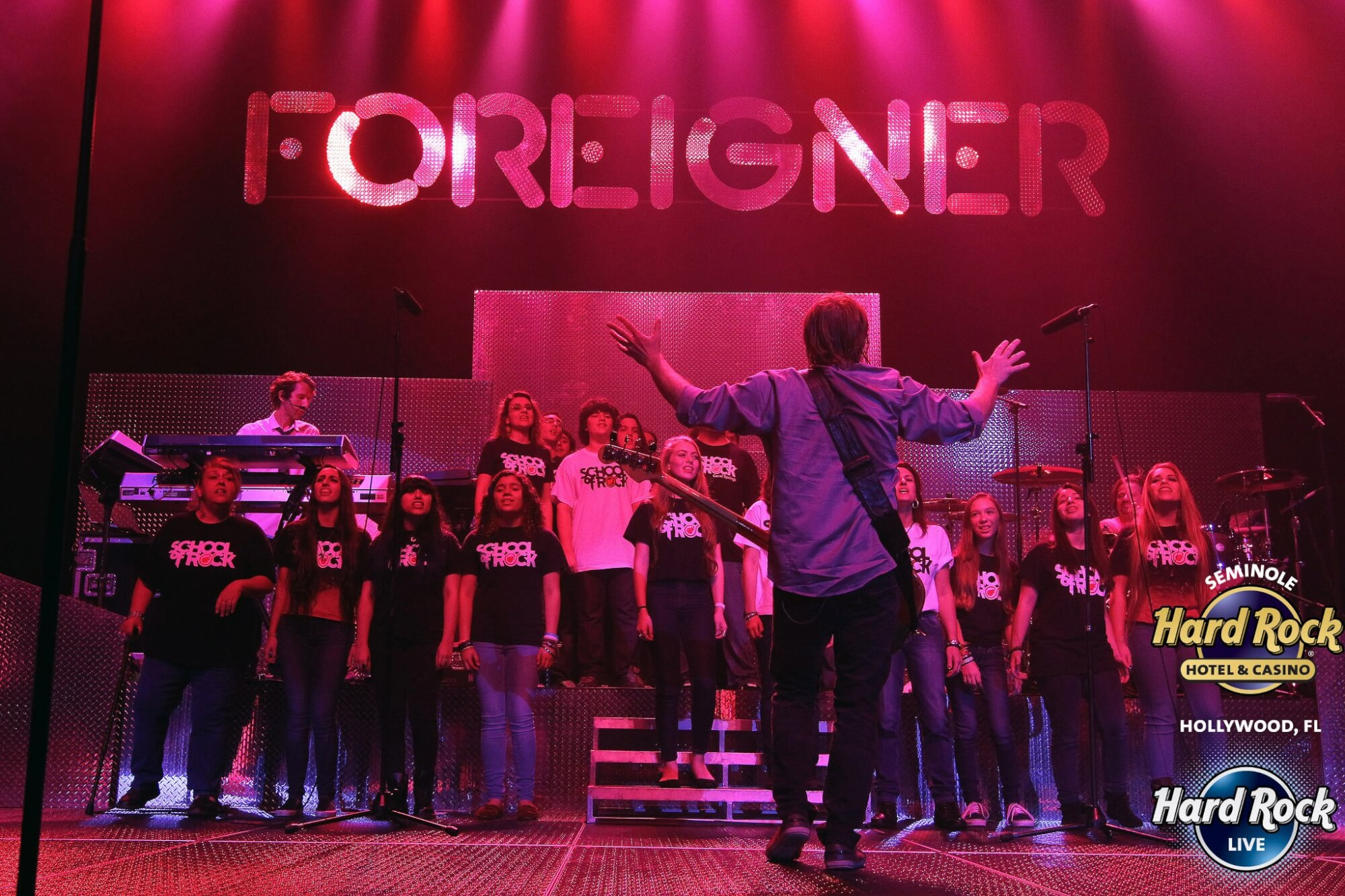 Fist Time our vocal students performed with Foreigner.