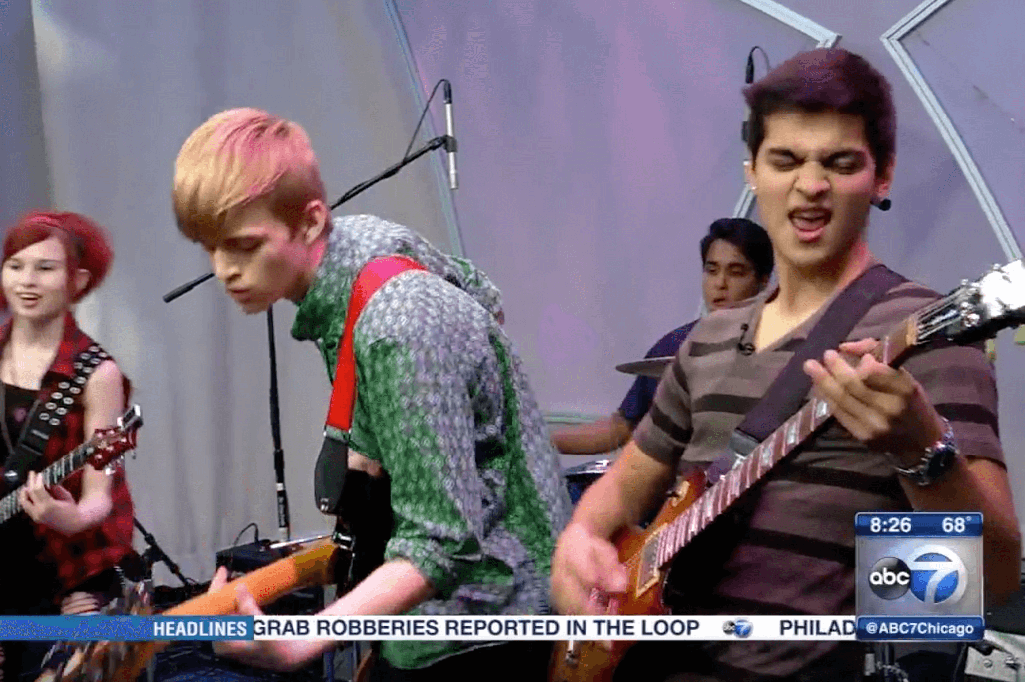School of Rock Chicago students show ABC News Chicago their skills