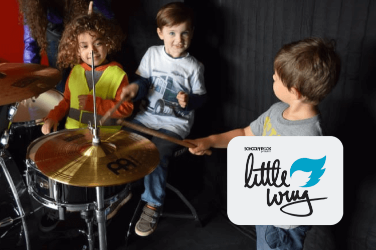 Little Wing School of Rock Eden Prairie Music Class for 4-year-olds