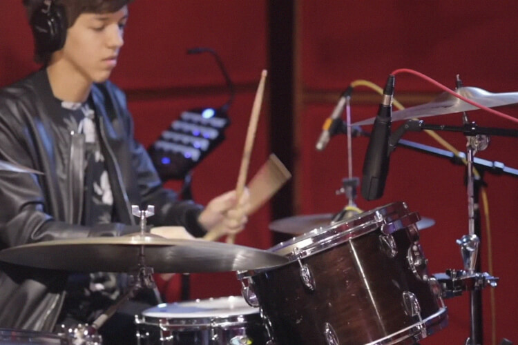 School of Rock student playing the drums on Schism by Tool