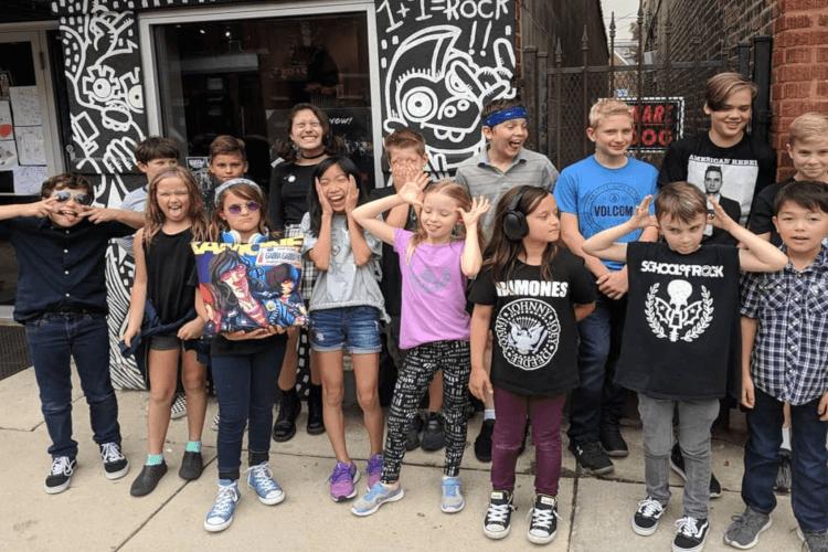 Ramones Summer Camp at School of Rock Chicago West