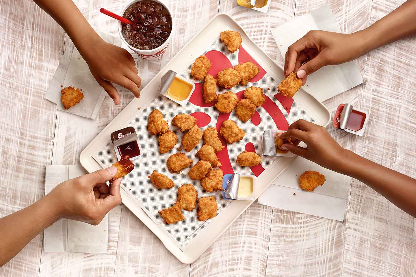 Background image for Chick-Fil-A One, the loyalty program of Chick-Fil-A.