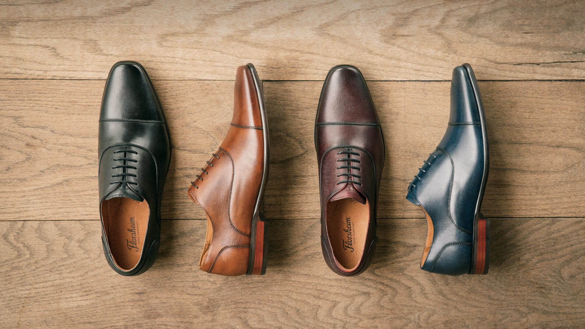 Background image for Florsheim Rewards, the loyalty program of Florsheim Shoes.
