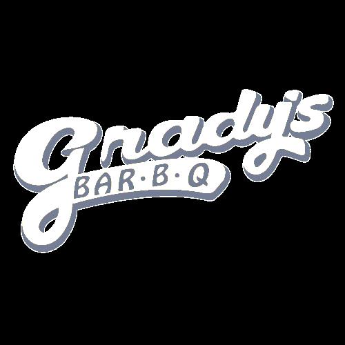 Logo for MVP Program, the loyalty program of Grady's BBQ.