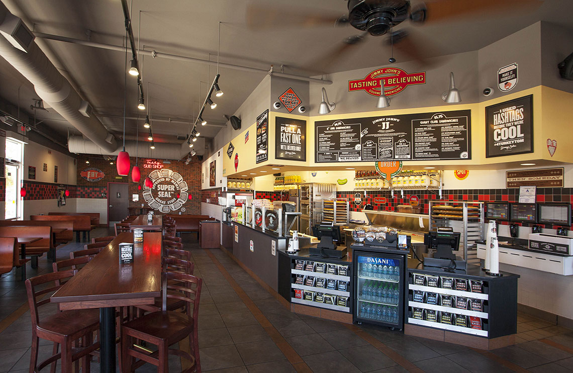 Background image for Freaky Fast Rewards, the loyalty program of Jimmy John's.