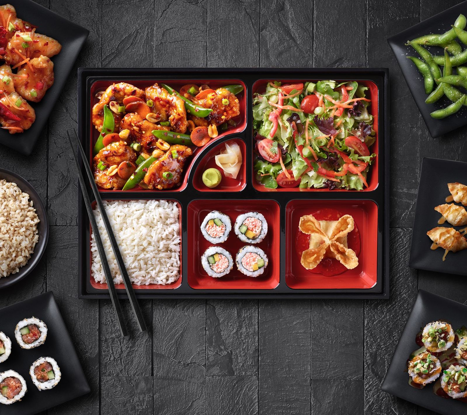 Background image for My Wei Rewards, the loyalty program of Pei Wei Asian Diner.