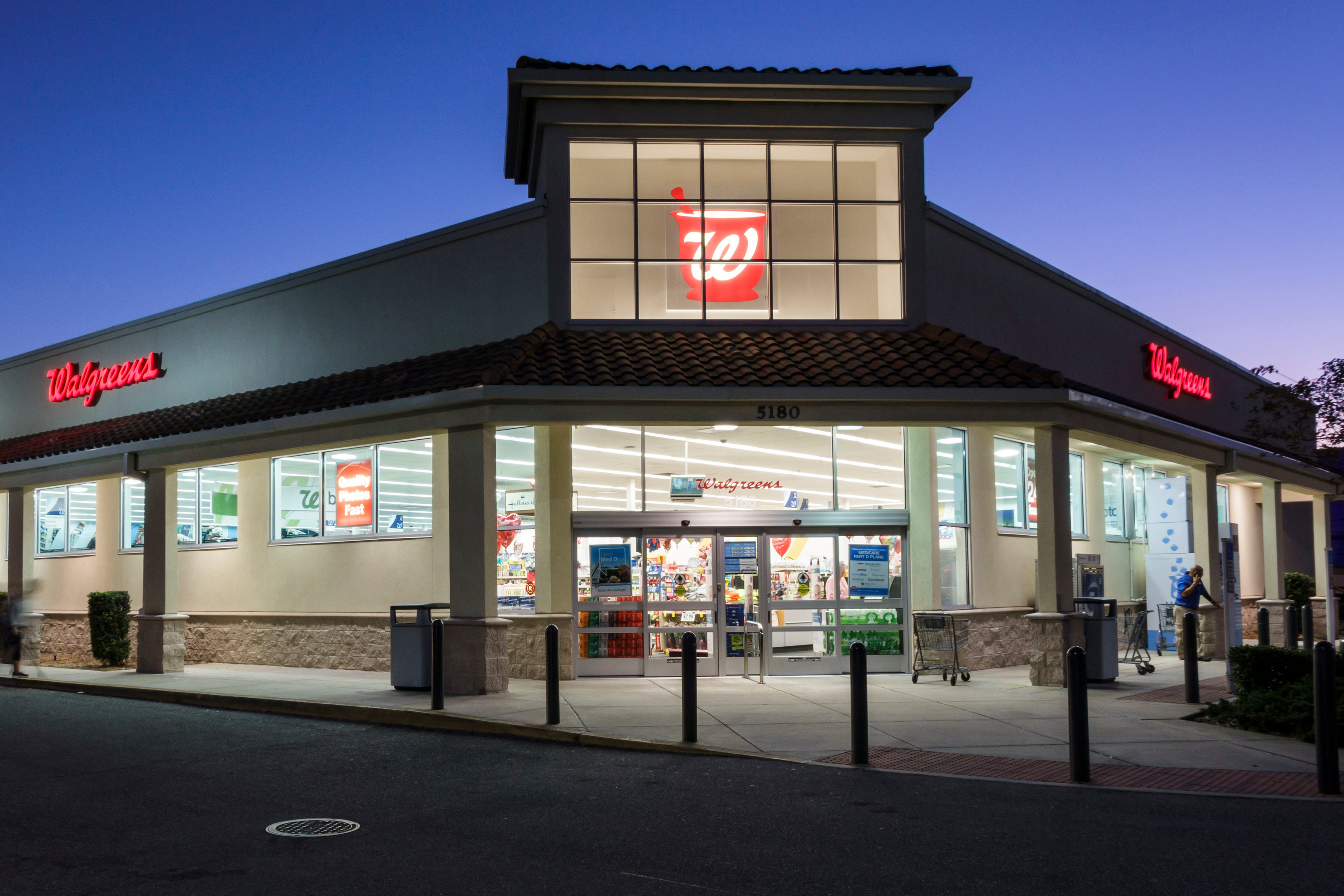 Background image for myWalgreens, the loyalty program of Walgreens.