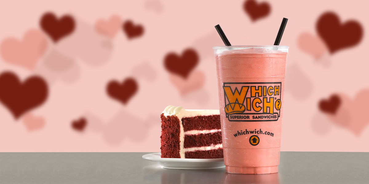 Background image for Vibe Club Rewards, the loyalty program of Which Wich Sandwiches.