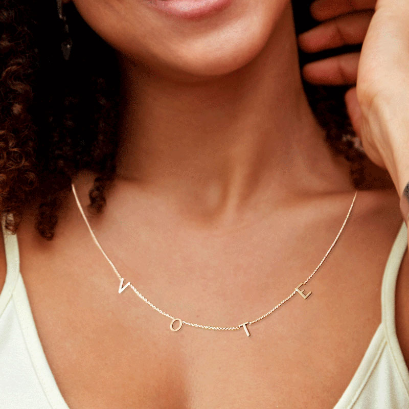 The Vote Necklace Inspired by Michelle Obama (Limited Edition)