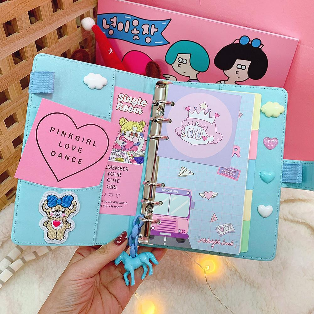 Pastel Leather Notebook