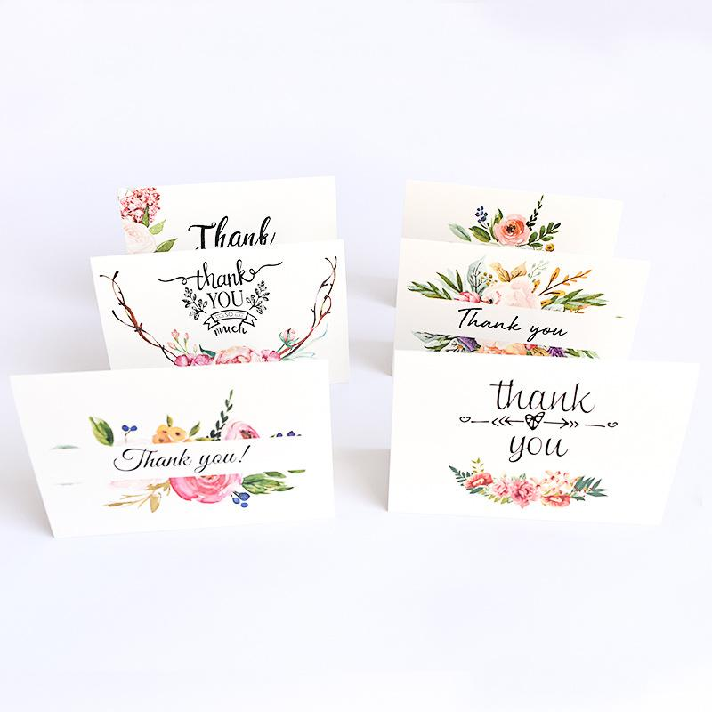 Thank You 6-Piece Greeting Cards