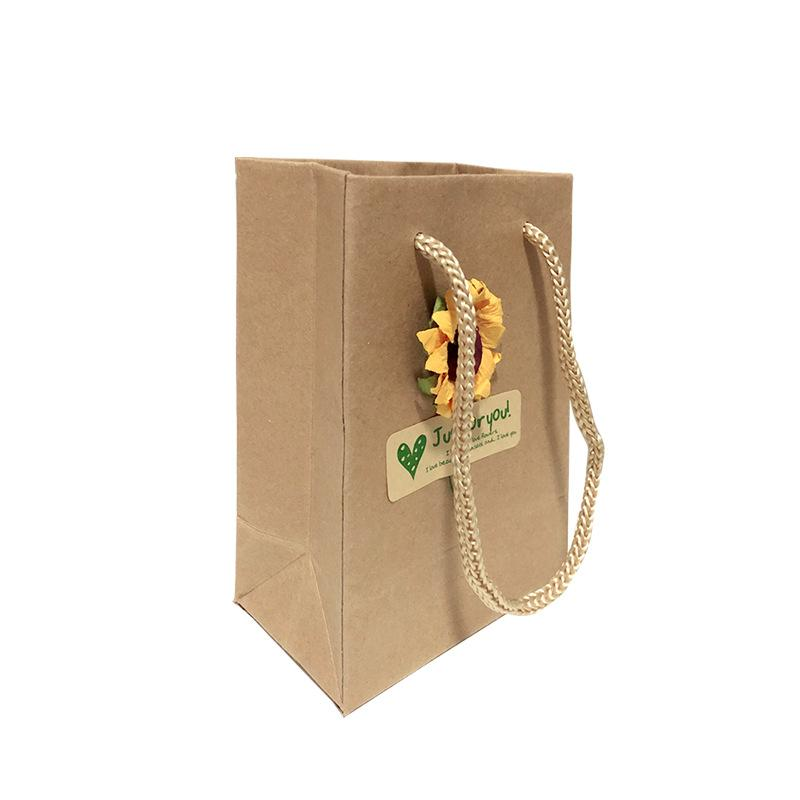 Sunflower Recycled Gift Packaging Set