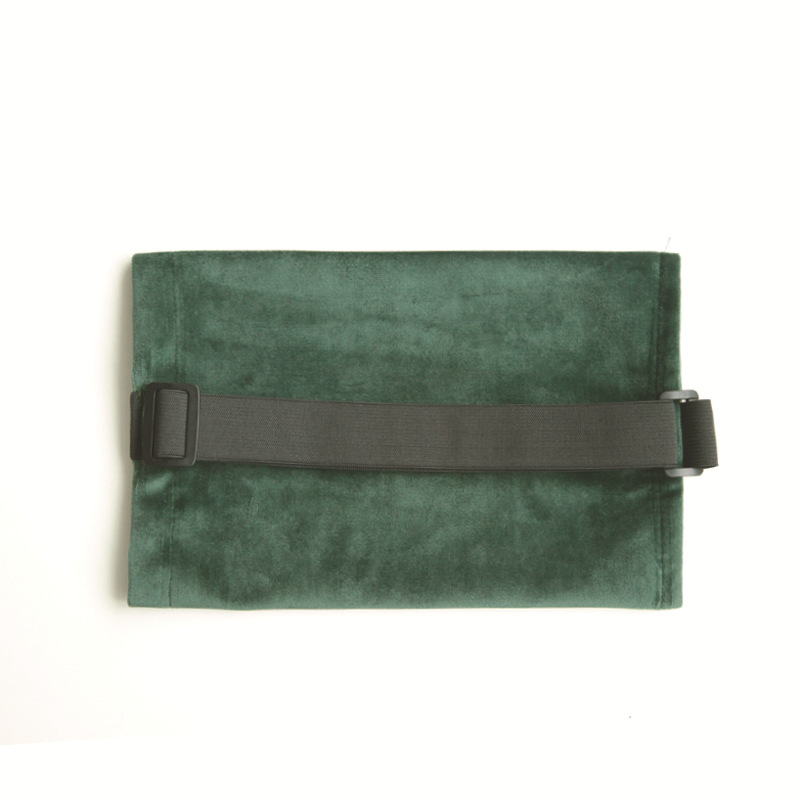 Velvet Tissue Box for Car with Buckle