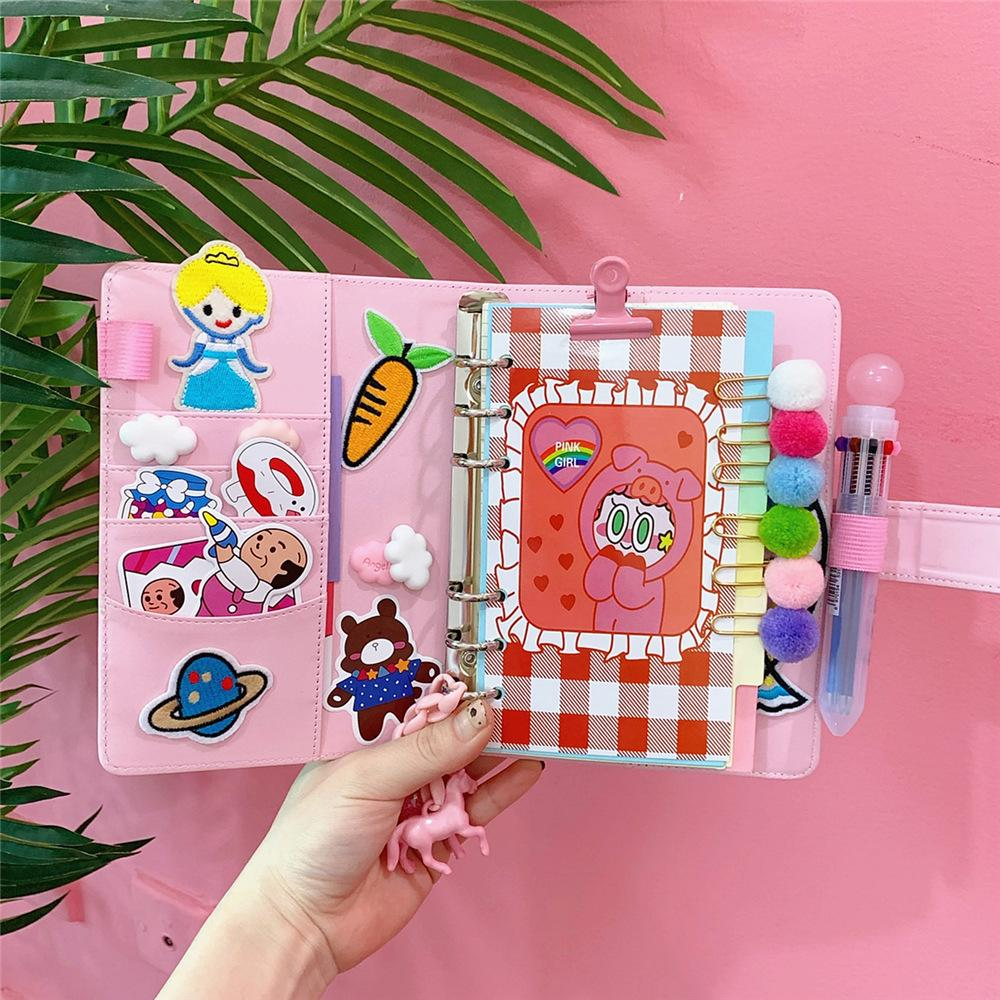 Girly Pink All-In Notebook
