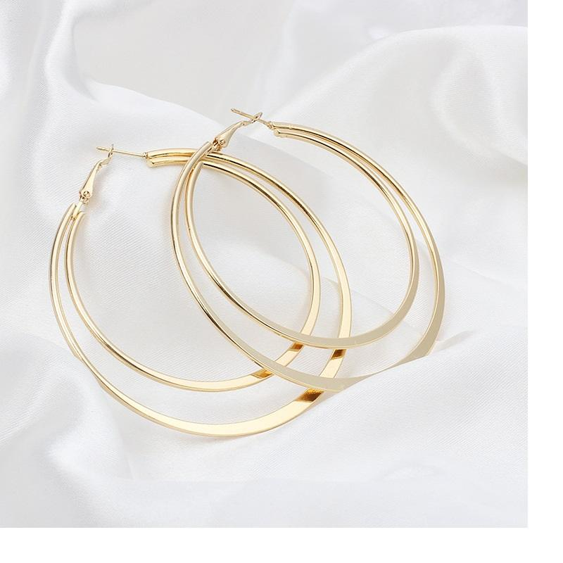 Classic Double Hoop Earrings