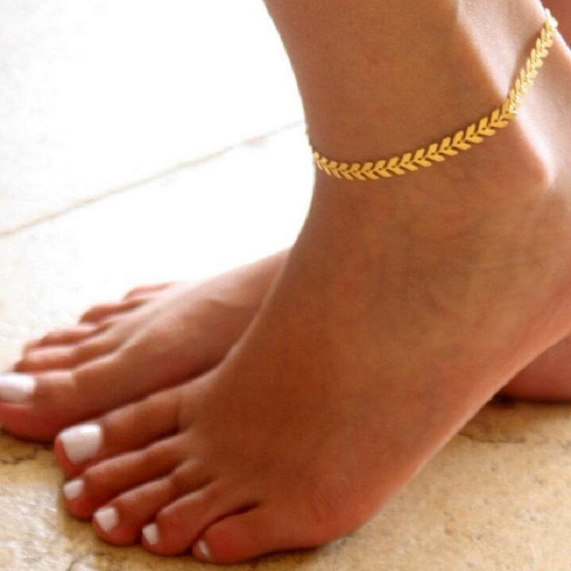 Straight Ahead Anklet