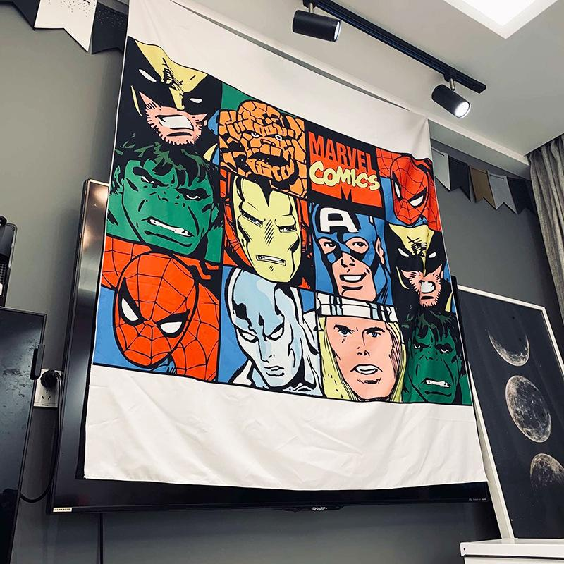 Marvel Comics Characters Tapestry