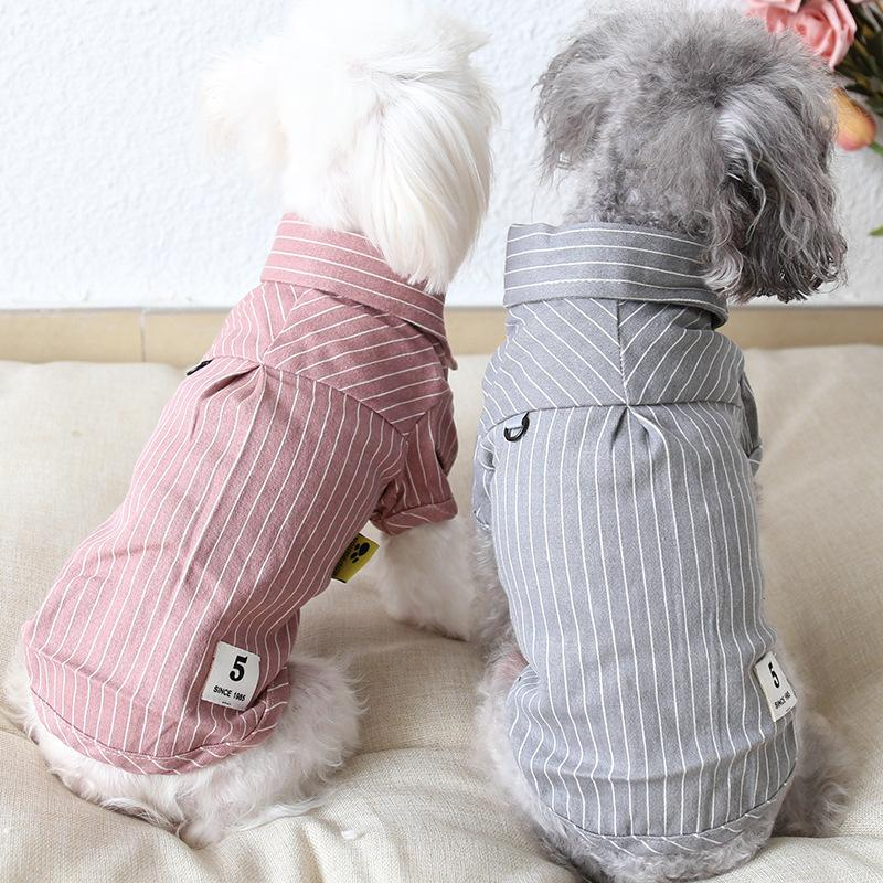 Striped Polo Pet Clothes