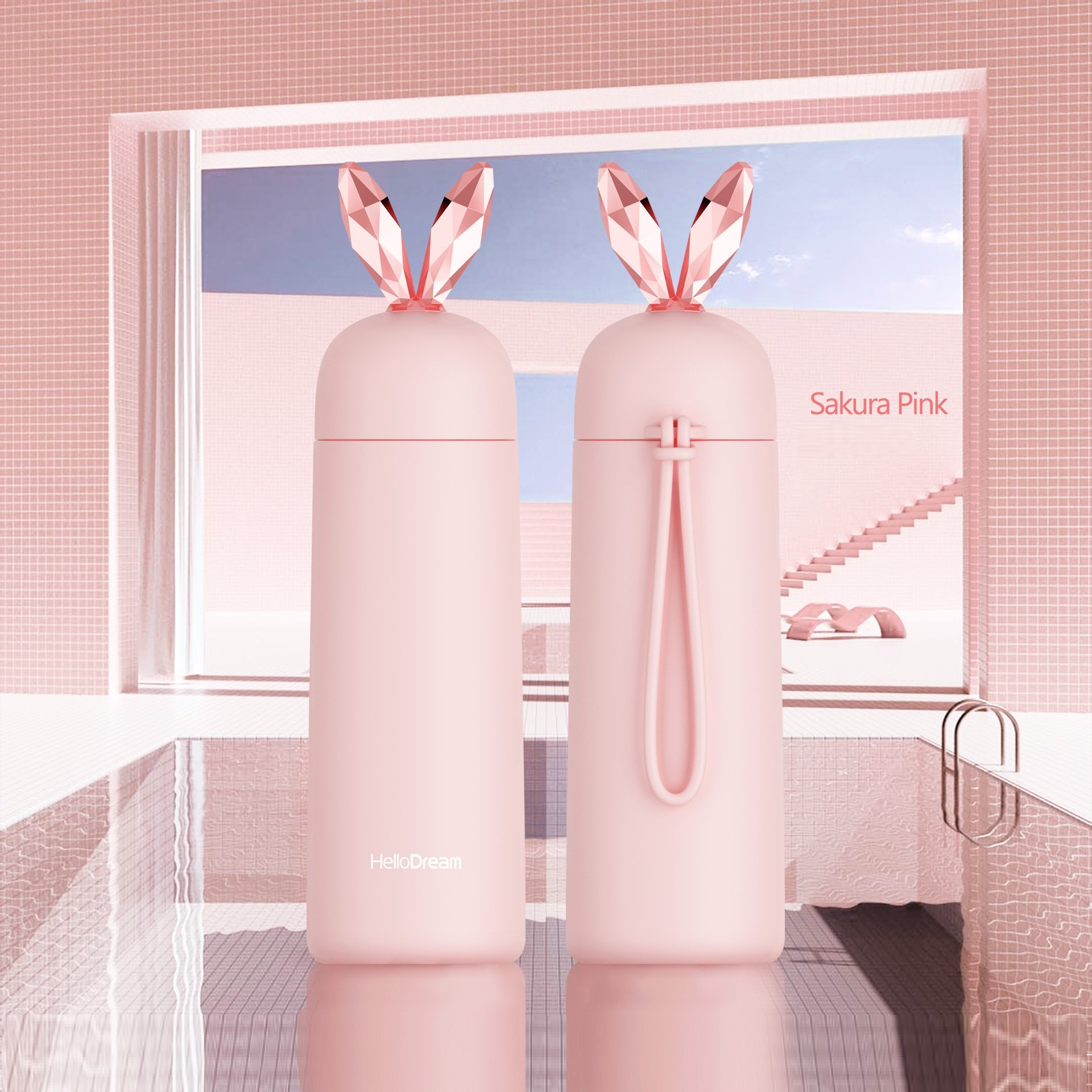 Bunny Ear Travel Mug Thermos