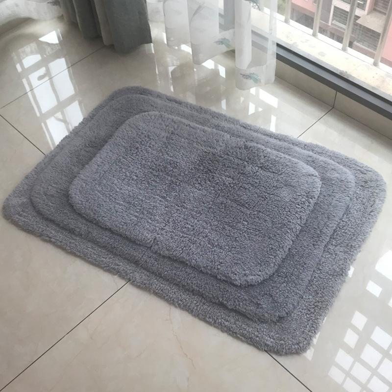 Thick Cotton Bathroom Mat