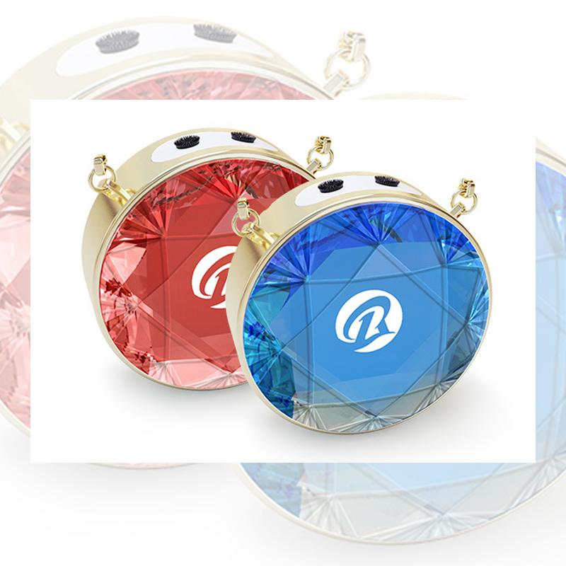 Round Anion Air Purifier Necklace