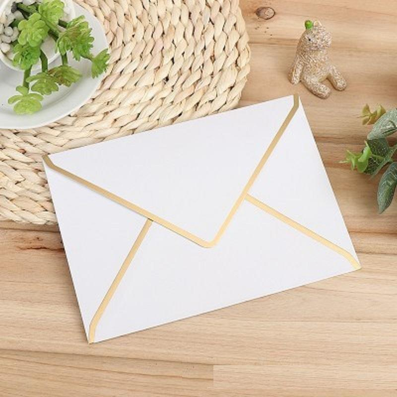 Gold Edge Envelopes