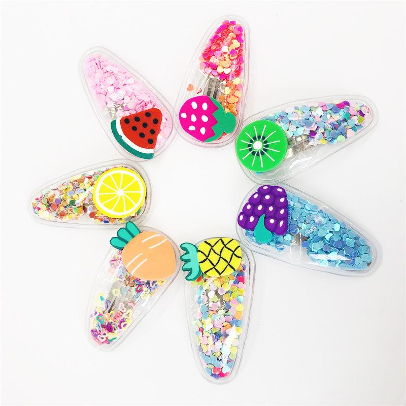 Summer Fruits Kids' Snap Clip