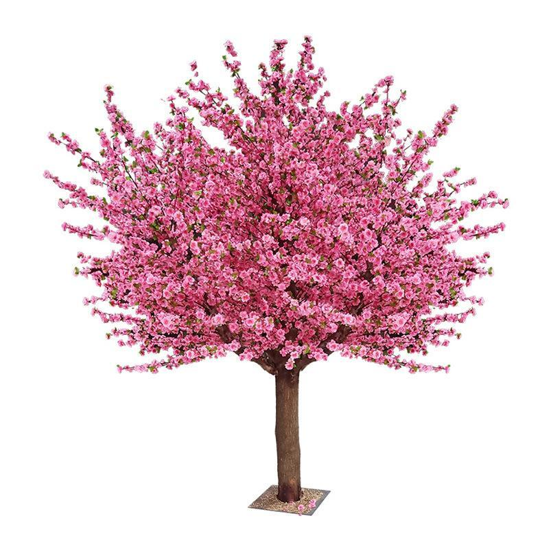 Artificial Flowering Peach Tree