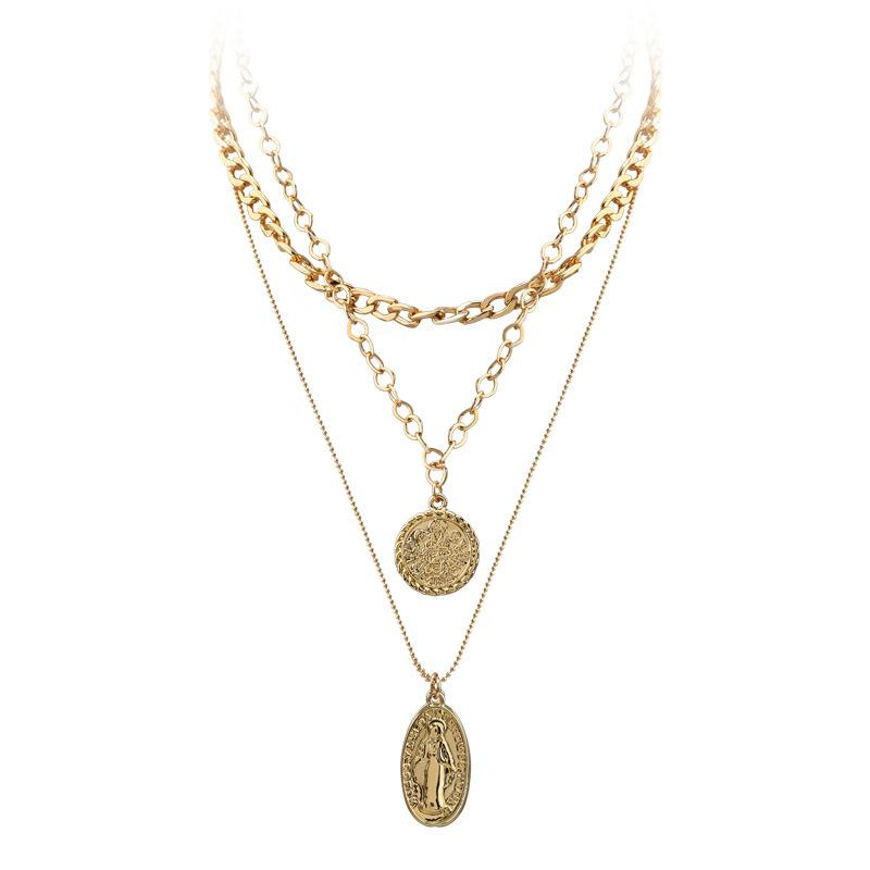 Layered Gold Plated Chains