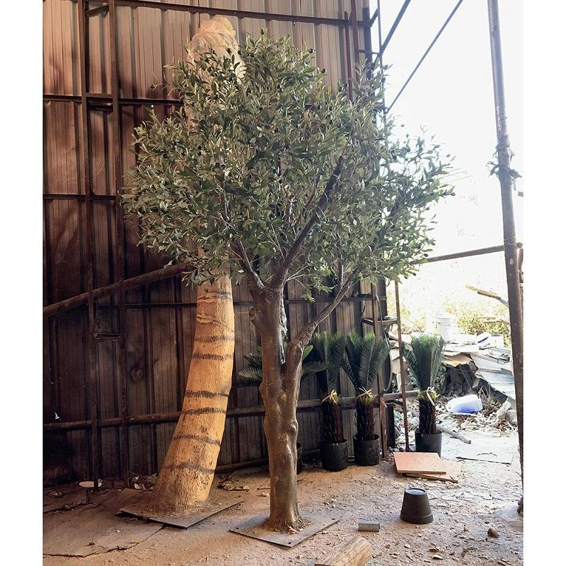 Artificial Decorative Olive Tree