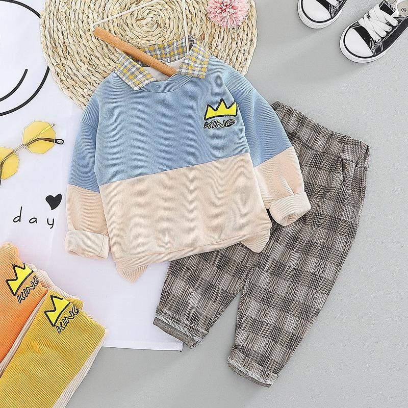 KING Baby Boy Top and Bottom Set