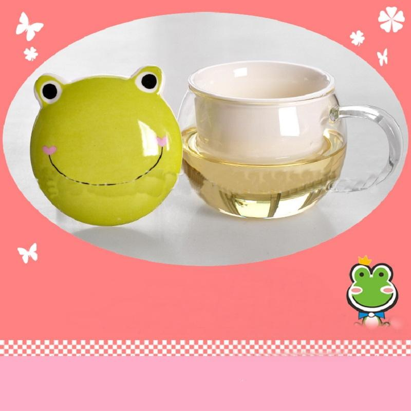 Pet Face Lid Teacup