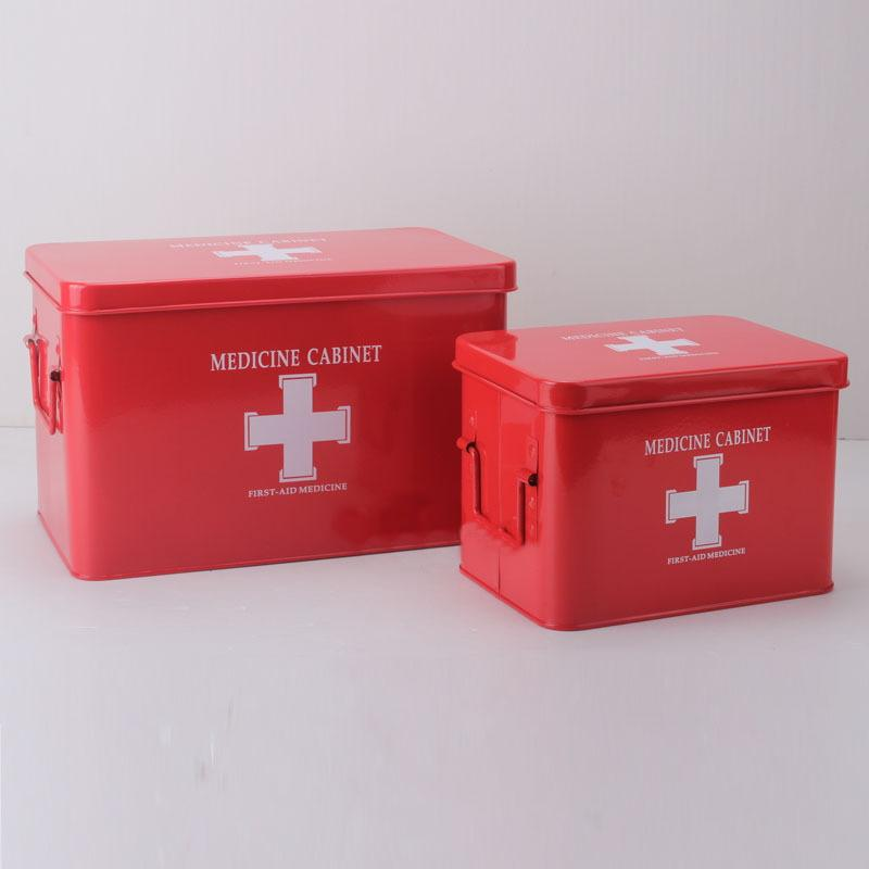 First Aid Kit with Lock Box
