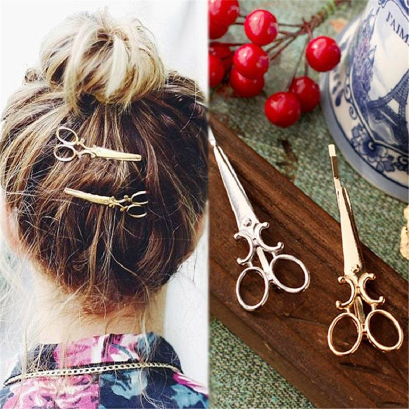 Erzabeth Vintage Mini Scissors Hairpin