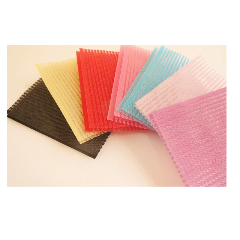 Mixed Color Hair Velcro Pad Set