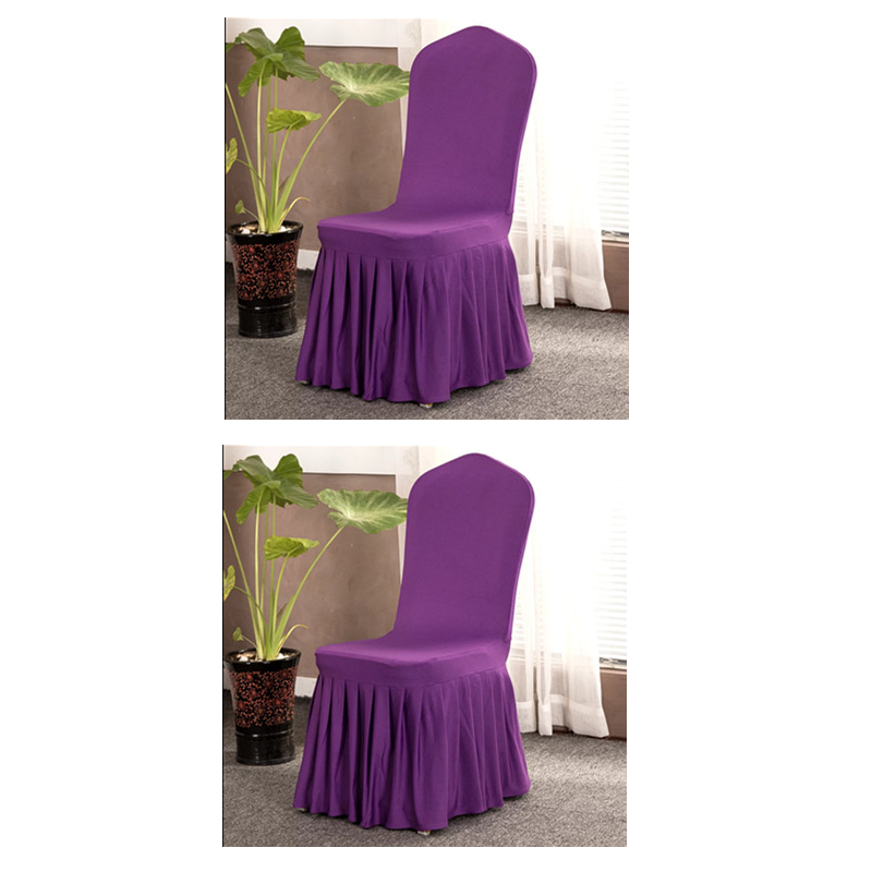 Polyester Chair Pleated Skirt